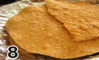 Papad Fried